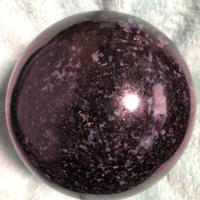 ①ミスティックメリルナイト(H&E社)直径約:98mm  (魂の栄養素)