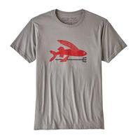 <patagonia>メンズ・フライング・フィッシュ・オーガニック・Tシャツ/FEA/Mサイズ