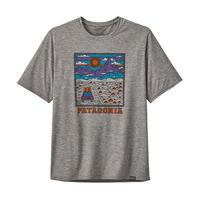<patagonia>メンズ・キャプリーン・クール・デイリー・グラフィック・シャツ/SRFE/Sサイズ