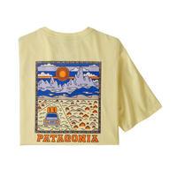 <patagonia>メンズ・サミットロード・オーガニック・Tシャツ/REYE