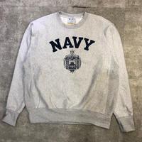 """""""USNA"""" champion reverse wave sweat shirt"""
