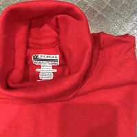 【後染め色】LIFEWEAR ポケット付きturtleneck long sleeve