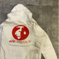 USED A BATHING APE  GENERAL  zip up parker