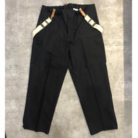 "60s dead stock ""NVA"" 東ドイツ軍suspender over pants"