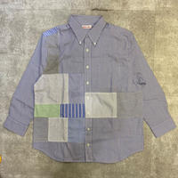 "sliderstoreオリジナル ""remake patchwork shirt""④"