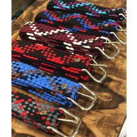 "Wild West Braiding co.  ""Nylon Parachte Cord Belt"""