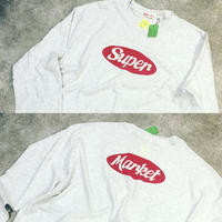 supermarket × sliderstore  別注long sleeve tee