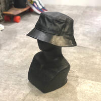 "NEWHATTAN  ""leather bucket hat"""