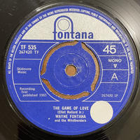 WAYNE FONTANA AND THE MINDBENDERS / The Game Of Love
