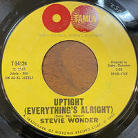 STEVIE WONDER / Up Tight (Everything's Alright)