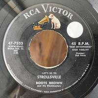 BOOTS BROWN / Strollsville
