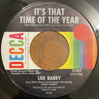 LEN BARRY / It's That Time Of The Year