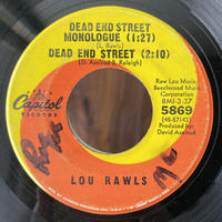 LOU  RAWLS / Dead End Street Monologue ~ Dead End Street