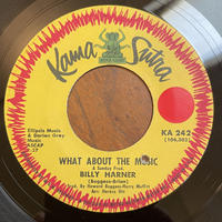 BILLY HARNER / What About The Music