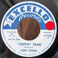 TABBY THOMAS / Popeye Train