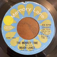 MAJOR LANCE / The Monkey Time / Um, Um, Um, Um,Um, Um