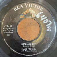 ELVIS PRESLEY / Such A Night