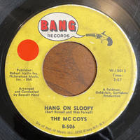 THE McCOYS / Hang On Sloopy