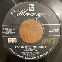 GEORGIA GIBBS / Dance With Me Henry