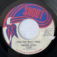 FREDDIE SCOTT / (You) Got What I Need