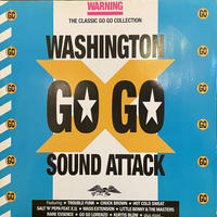V.A. / Washington Go Go Sound Attack 2LP