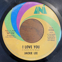 JACKIE LEE / THE CHICKEN / I LOVE YOU