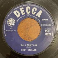 RHET STOLLER / Walk Don't Run