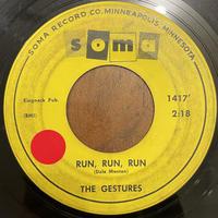 THE GESTURES / Run Run Run