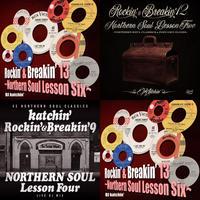【セット割!&送料無料!】katchin'の Northern Soul MIX CD 3枚セット