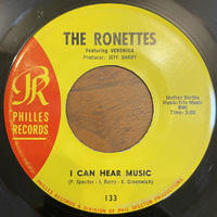 THE RONETTES / I Can Hear Music