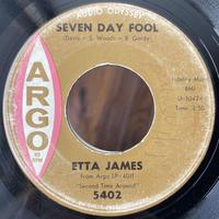 ETTA JAMES / Seven Day Fool