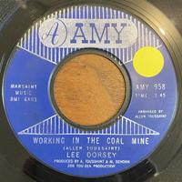 LEE DORSEY / Working In The Coal Mine