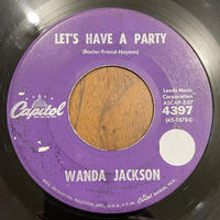 WANDA JACKSON / Let's Have A Party