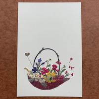 フラワー・バスケット(Post Card)