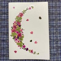 クレセント(2つ折り/封筒付)