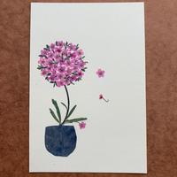 ボール・オブ・フラワー2(Post Card)