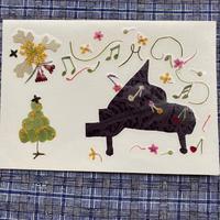 ピアノフレーズ(2つ折り/封筒付)