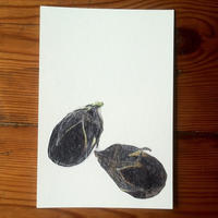 ナス2 (Postcard)