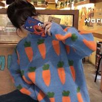 #70  carrot nitt 【blue】