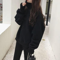 #64trainer/black 裏起毛あり