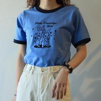 #165 ラビット ブルー T-shirt
