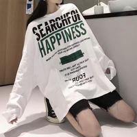 #49 big longT-shirt 【 green 】