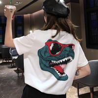 #36 Dinosaur T-shirt【 white 】