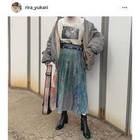 #146 ハイデザインタッグスカート