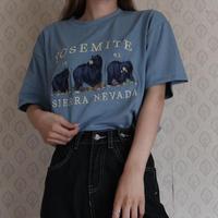 # YOSEMIT T-shirt /ダークブルー