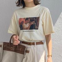 #198  プリントT-shirt