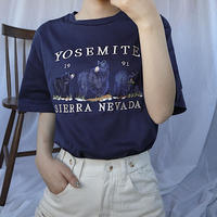 #202 YOSEMIT T-shirt/ネイビー