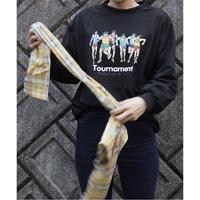 #150 ランナー ロングTシャツ /ブラック