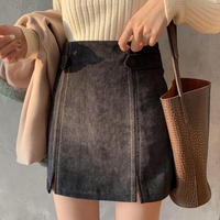 #68  skirt【black】