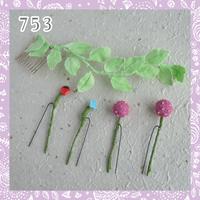 七五三-髪飾り- C